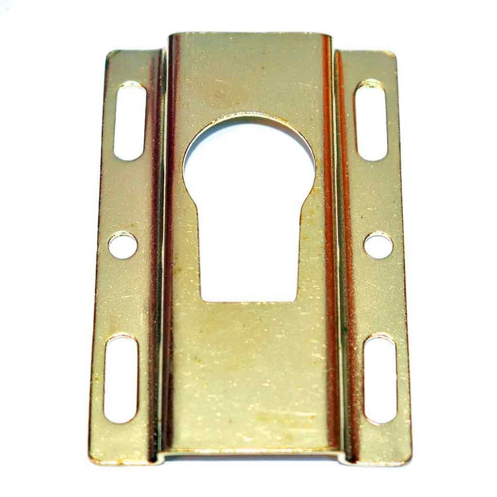 Heavy Duty Brass Plated Bezel Bridge Plate